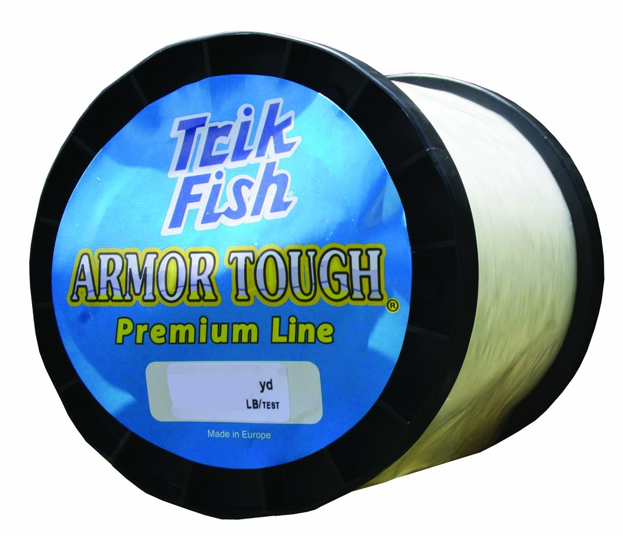 Trik Fish 001LB02001 Clear Mono 1-Pound Spool 20-Pound, 2600-Yards