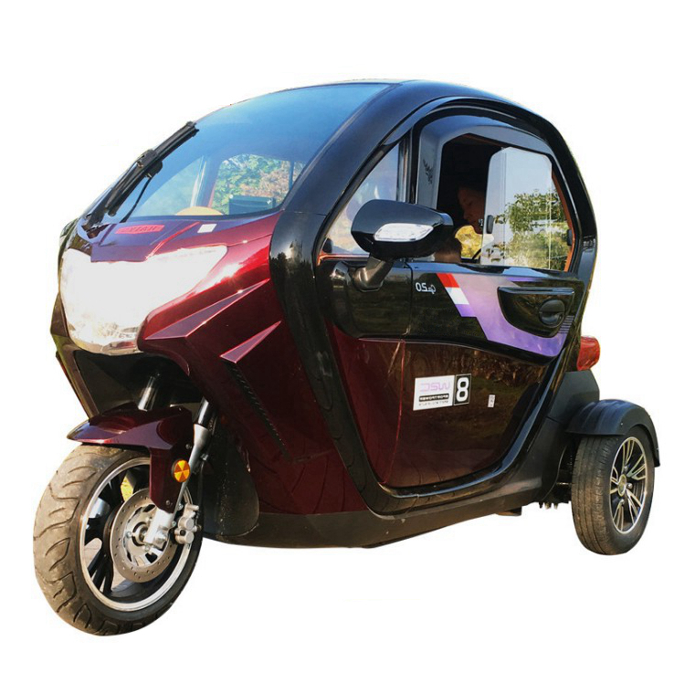 small electric car with 2 passenger seats mopeds for sale