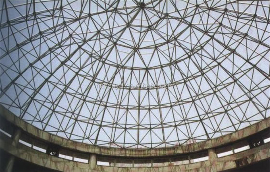 Steel Structure Space Frame For Dome Shed Space Structure - Buy ...