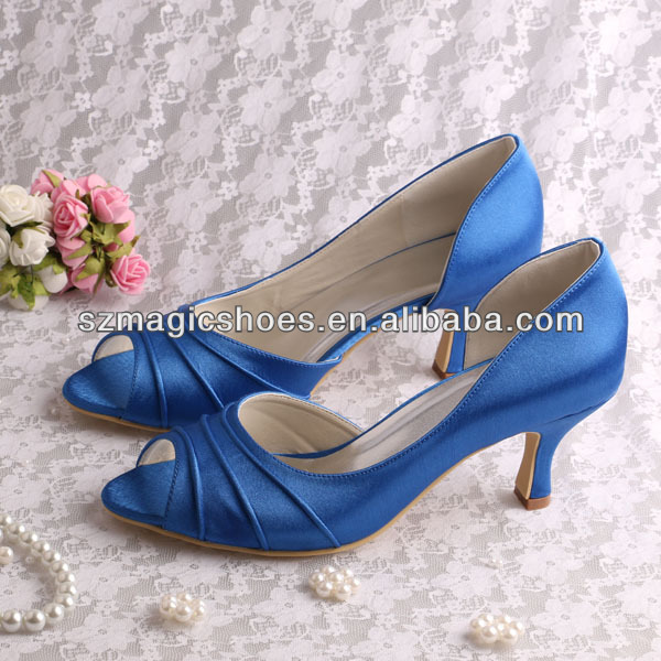 Blue Low Heels Fs Heel