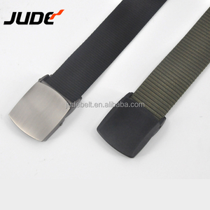 38mm High Strength Military Tactical Mens Nylon Belt with Plastic Buckle