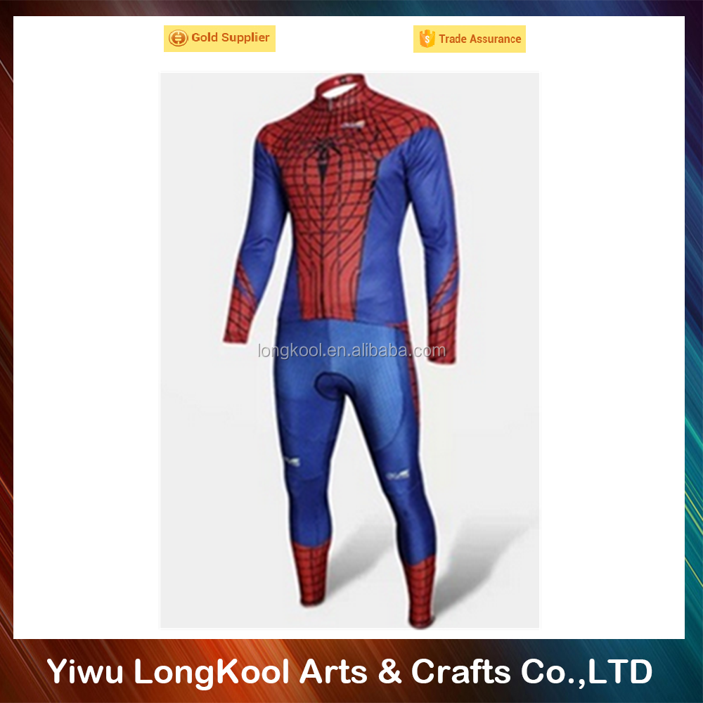 New arrival hot sale adult simple cosplay costume famous superhero costume