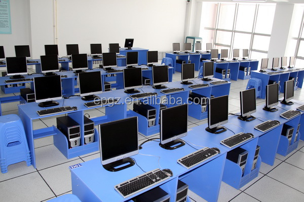 School classroom furniture student simple lab computer for Computer lab chairs for schools