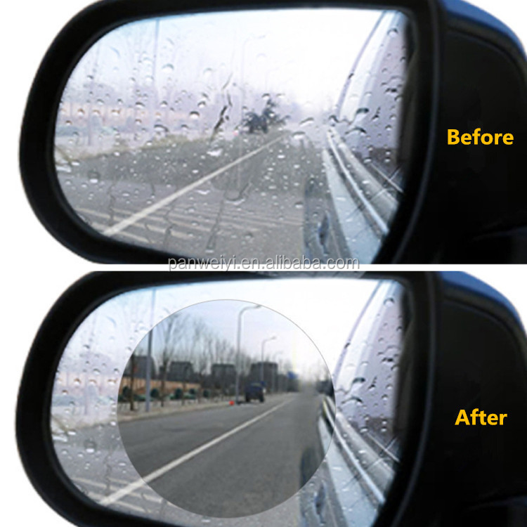 Anti Fog Film for Car RearView Mirror, Rearview Protector Anti Water&Anti Scratch HD Film Applicable for all car models