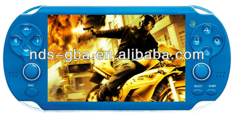 Attractive game player, cheapest handheld game player,4.3 inch HD PAP-gameta game console,video game console