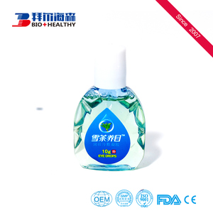 Chinese herb extract refresh clear eye drops for mild vitreous opacity