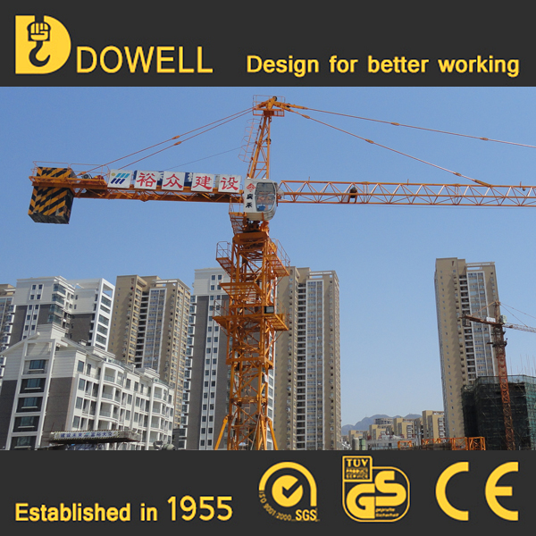 Self-ascending small standard 1-16t construction mini crane tower crane
