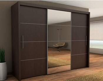Bedroom Wall Wardrobe Design Wardrobe Cabinet With Mirror