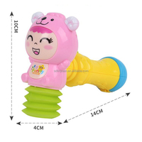 Plastic Small Baby Hammer Education Toys With Music for Kids