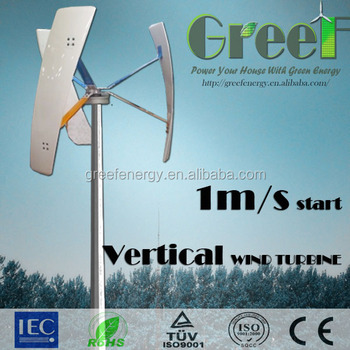 Silent Wind Generator For Sale Below 30db,500w Roof Mounted Vertical Axis  Wind Turbine - Buy Silent Wind Generator,Vertical Axis Wind Turbine,500w