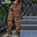 Mens Military Cargo Pants City Urban Multi pockets Tactical Pants Breathable Swat Tactical Hiking Trousers