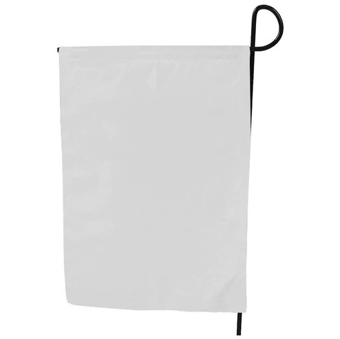 Wholesale 12x18 inch Stock 30x45cm Double Sided Sublimation Blank Garden Flag