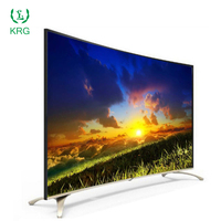 China Smart Televisions With Wifi Curved TV 43 55 65 Inch Curved Chinese TVs UHD 4K Led Televisions With Wifi