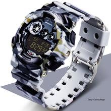 e03b23b69da2 WJ-7533 SANDA deporte Relojes LED impermeable  span class keywords  strong