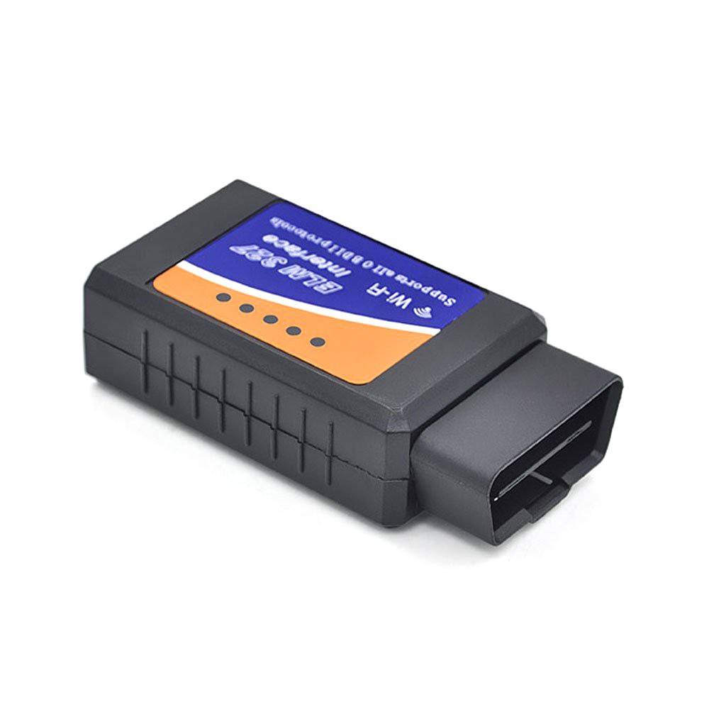 Vendita calda WIFI OBDII 1.5 V ELM327 OBDII WIFI Software OBD2 CAN-BUS Scanner Tool Gratuito di Software Elm327 Wifi OBD2 ELM327 v2.1
