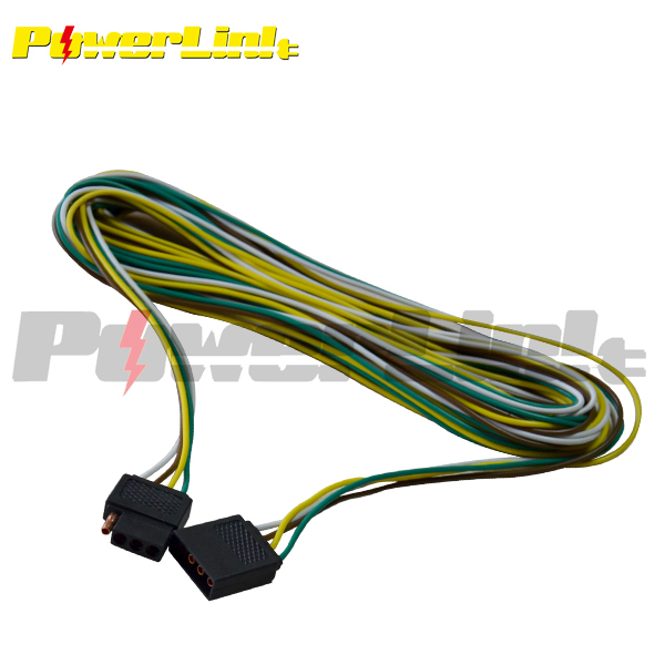 quality trailer wiring diagram h60026 trailer 20 wiring harness 4 pole conductor wire with 4 flat  wiring harness 4 pole conductor wire
