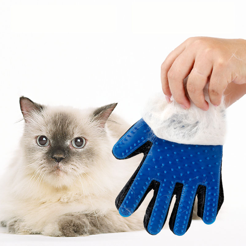 Pet Glove Grooming Tool Durable Cheap Cat Dog Hair Gentle Shedding Brush
