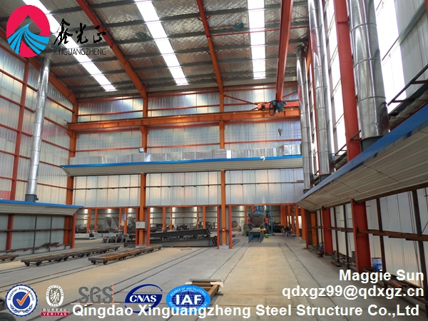 Prefab Light steel structure warehouse (metal steel workshop,building)