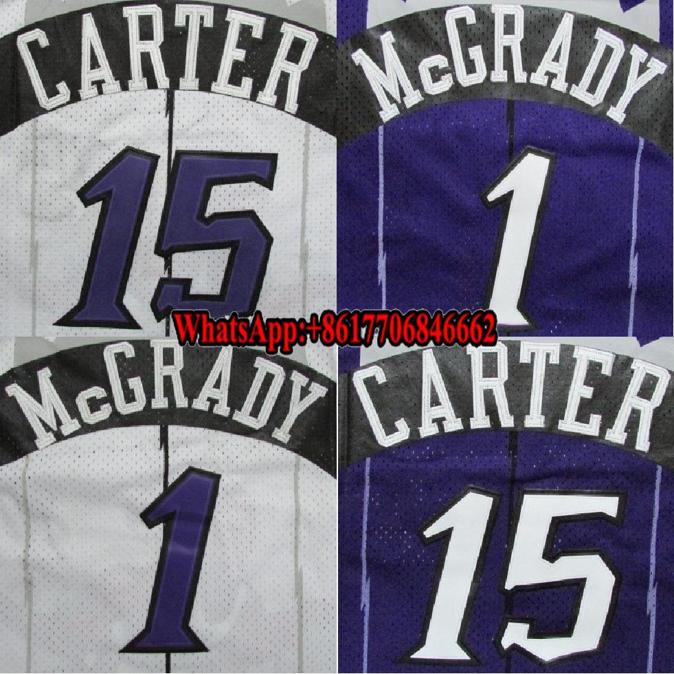 quality design c61a7 ba18b Sublimated Purple / White Tracy Mcgrady / Vince Carter Basketball Jersey -  Buy Cheap Basketball Jerseys Product on Alibaba.com