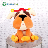 Wholesale Plush Toy Baby Stuffs Dog Custom PP Cotton Cute Soft Doll
