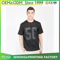 Bulk sale new fashion mans printing t shirt new design silk screen print t shirt