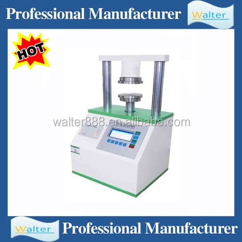 Digital ring crush tester