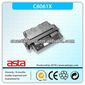 Compatible laser toner cartridge 8061X for hp laser printer 4000