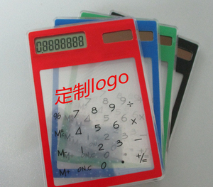Hot Sell Touch Screen Calculator, Transparent Calculator Made in China