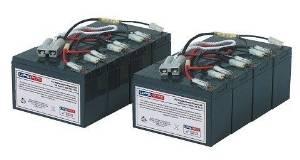 UPSBatteryCenter APC SmartUPS SC 450VA 230V 1U SC450RMI1U Compatible Replacement Battery Pack