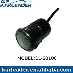 Flush and butterfly mount Auto Reverse Car Camera Kirsite material with 170 degree Image Inversion function