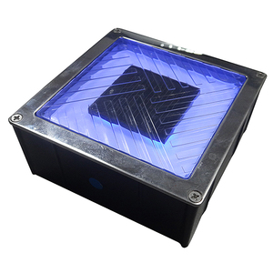 Super capacitor 2 years Warranty solar road stud underground LED light