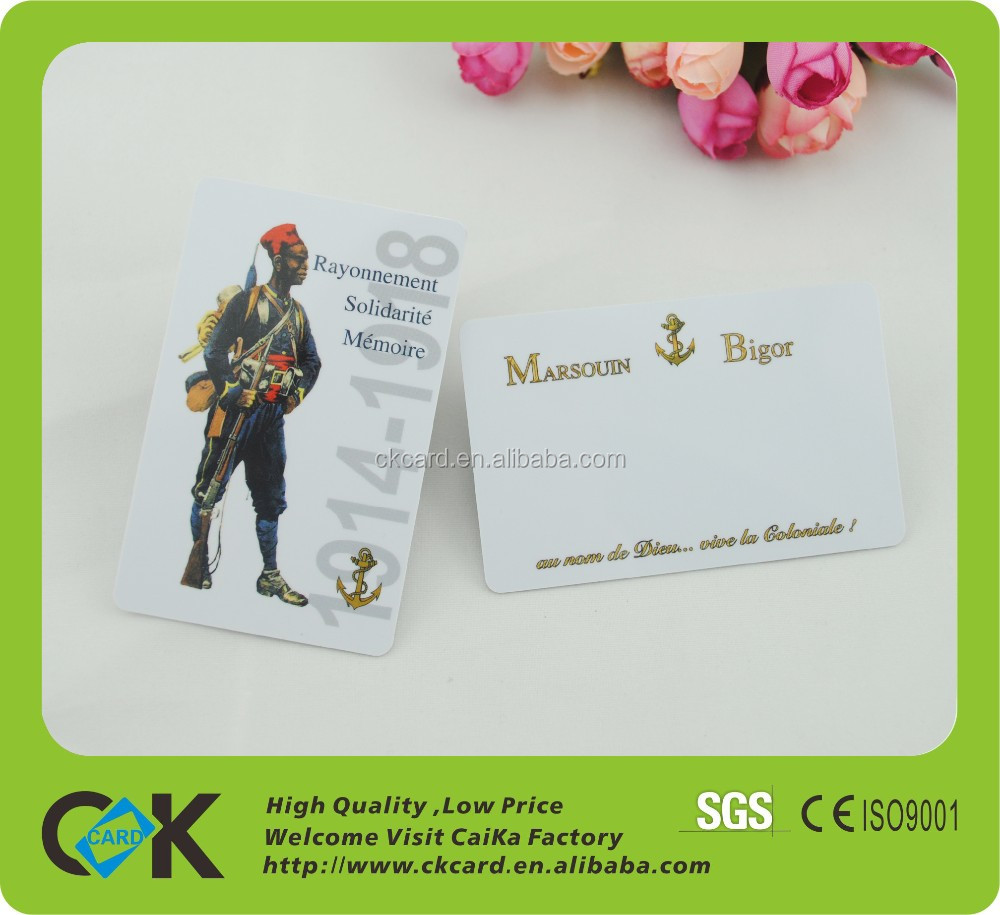 wholesale card printer pvc ,plastic pvc card with your own logo from China suppliers