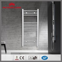 AVONFLOW Chrome Curved Classical Electric Water Heaters Heated Towel Rack
