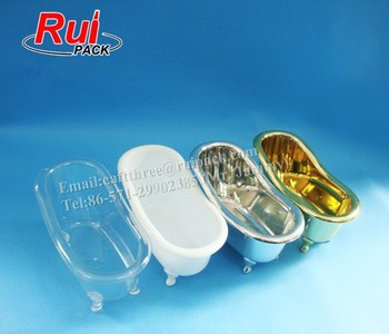 Different Sizes Plastic Bathtub Container For Storage Bath