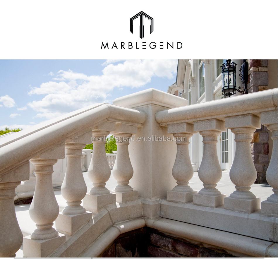 Villa pietra di marmo portico ringhiera del balcone disegni ...