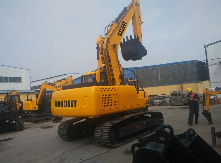 Backhoe loader heavy construction equipment bucket hydraulic tracked excavator for sale