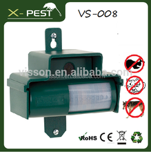 latest PIR + ULTRASONIC pest control equipment deter the cats, dogs, rabbits, squirrels of garden pest control devices