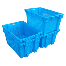 Stack Nest Plastic Basket food grade crate fruit plastic baskets