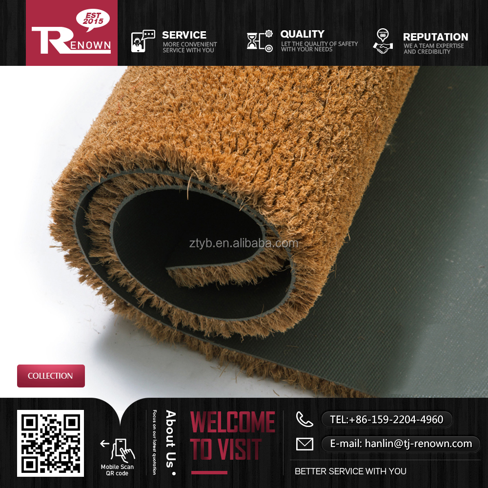 Best price door mat / coir mat and coco mat