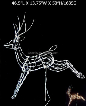 vintage outdoor elk christmas reindeer decorations - Vintage Outdoor Christmas Decorations For Sale