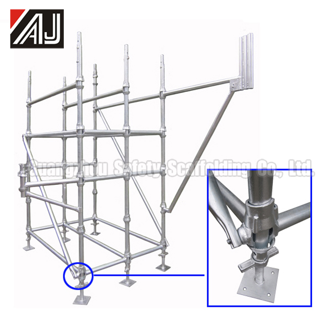 2015 new type Cuplock Scaffolding System use for building bridges and engineering construction in sale