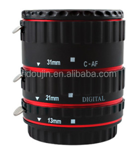 Auto focus Af macro camera extension tube ringsfor Canon Lens