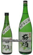 japanese plum wine - umeshu wine