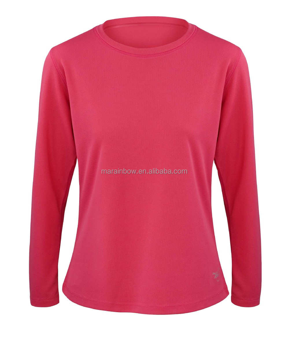 China Import Sports Plain Long Sleeve T Shirts Oem With Brand Name ...