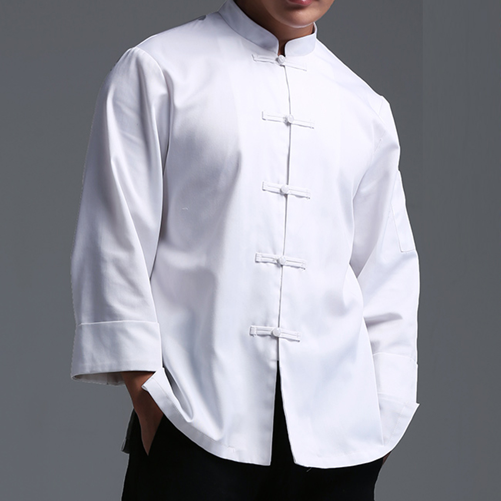 Keuken chef jas Franse designer hotel kok kleding jassen executive chef uniform