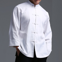 Kitchen chef jacket French designer hotel cook clothes coats executive chef uniform