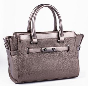 33b323450a8e52 latest design online shopping rose metallic leather tote ladies handbags  purses