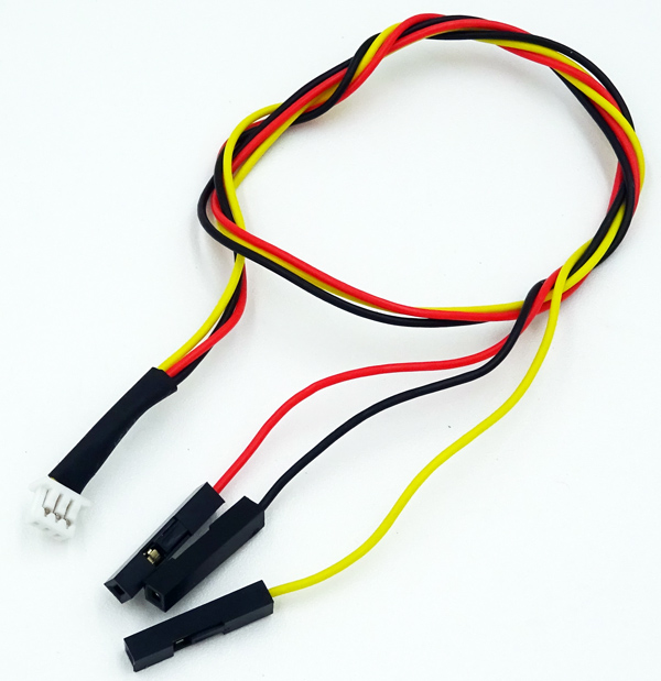 30CM 3-wire Video Output and Servo Plug Wiring Harness FPV Cable for Mini CCD Camera
