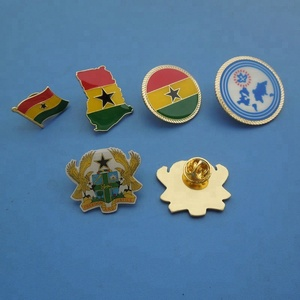Featured Ghana Flag Lapel Pins