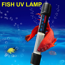 UV Sterilizer 10W UVC Light Germicidal Lamp for Aquarium Fish Tank